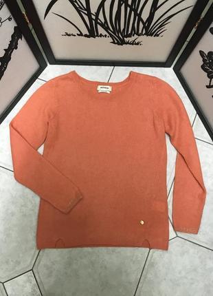 Кашемировый свитерок  mos mosh  шикарного каралового цвета