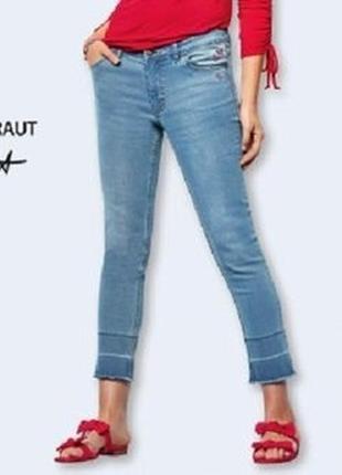 Дизайнерские джинсы от steffen schraut германия (aldi), р. 36 евро.