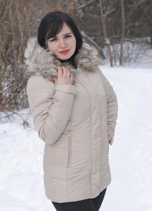 Женская куртка пуховик firetrap оригинал