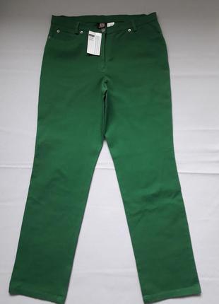 Суперовые стрейчевые джинсы высокая посадка большого размера madeleine