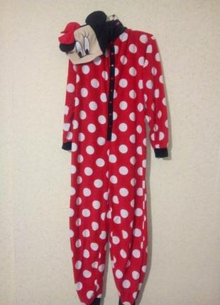 Флисовая пижама кигуруми пог 49