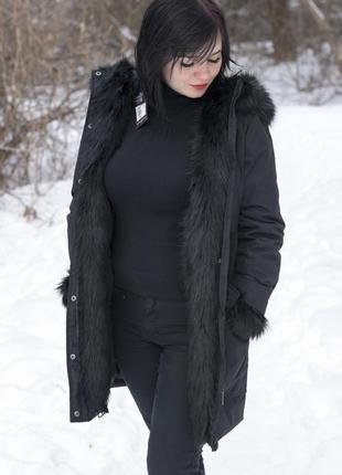 Женская парка куртка люкс качества, оригинал firetrap англия