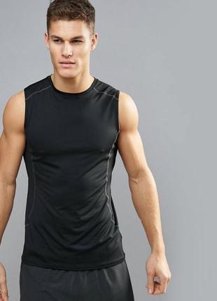 Спортивная майка для тренировок, футболка для бега зала