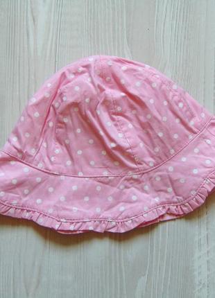 Стильная панамка для девочки. mothercare. размер 1-3 года