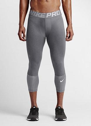 Термо-компрессионные лосины nike pro combat hypercool tight тайсы,спортивные,термо белье