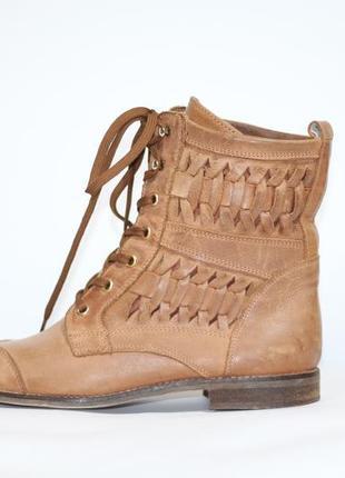 Кожаные ботинки zign