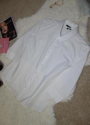 Белая рубашка 14 размера papaya