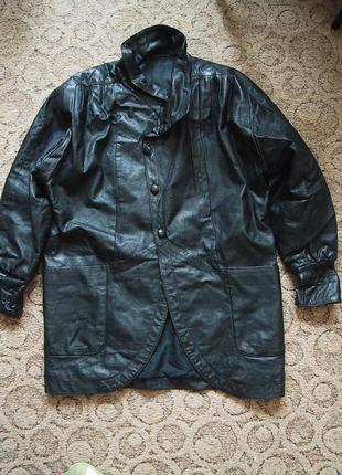 Куртка натуральная кожа xxxl на перешив, материал