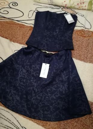 Комплект корсет и юбка kira plastinina