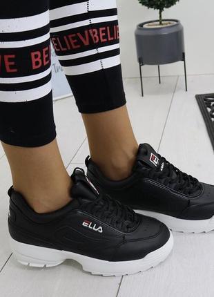 Новые черные кроссовки размер 36,37,38,39,40,41