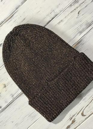 Классная бронзовая шапуля h&m
