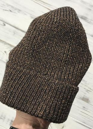 Классная бронзовая шапуля h&m3