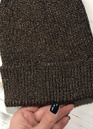 Классная бронзовая шапуля h&m4