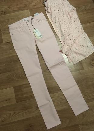 Новые нежные джинсы mango рр м