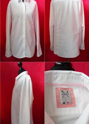 Натуральная, белоснежная рубашка