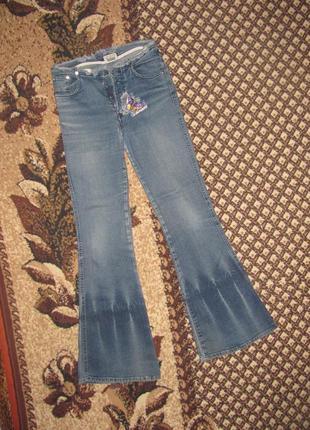 Необычные расклешенные джинсы pantamo, с-л