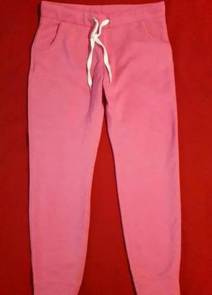 Тепленькие спортивные штаны внутри на флисе papaya weekend