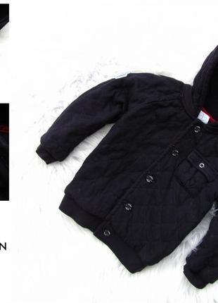 Стильная утепленная куртка реглан с капюшоном jasper conran