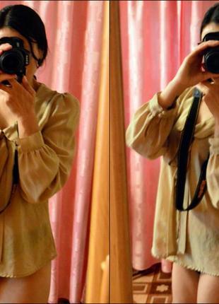 Шифоновая блузка new look