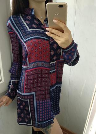 Шикарная рубашка/блузка patricia dini