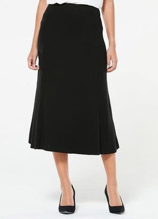 Базовая стильная юбка миди макси national