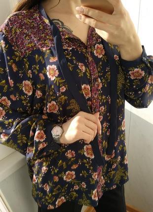 Шикарная рубашка/блузка с бантом limited3