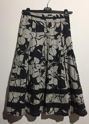 Красивая юбка миди adini