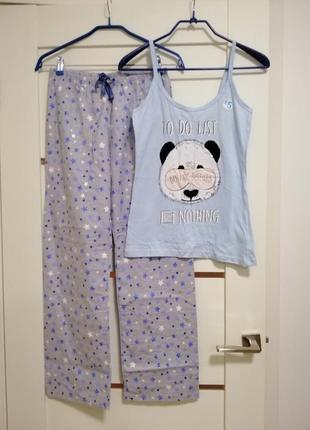 Пижама р. m фланель primark