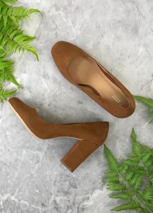 Идеальные туфли на устойчивом каблуке  sh1903064 papaya
