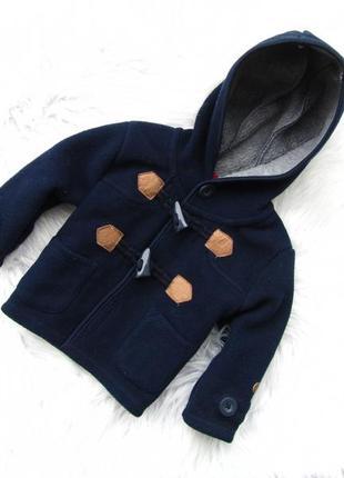 Стильная пальто куртка реглан с капюшоном jasper conran