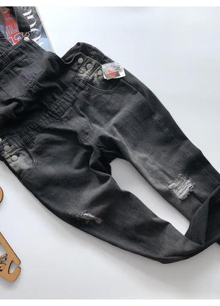 Новый джинсовый комбинезон бойфренд janina рр хл