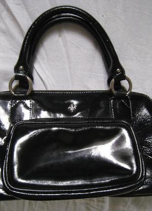 Крутая кожаная сумка patrick cox, англия, оригинал!!!