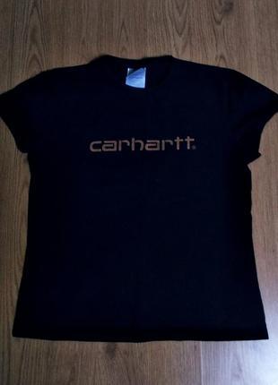 Футболочка - топ (футболка) відомого бренду carhartt 💥🖤
