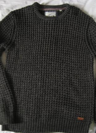 Стильный теплый свитер brave soul, оригинал!!!