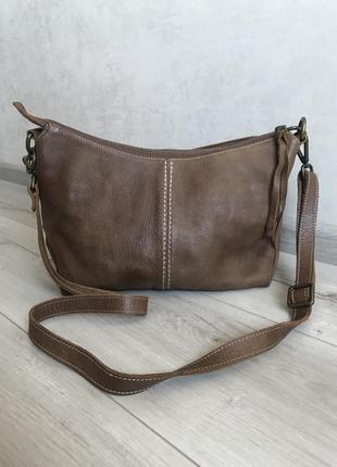 Новая кожаная сумка vip качество roots