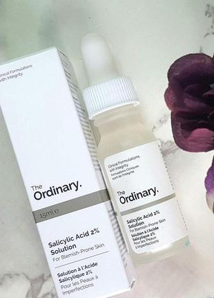 Salicylic acid 2% сыворотка с салициловой кислотой для проблемной жирной кожи
