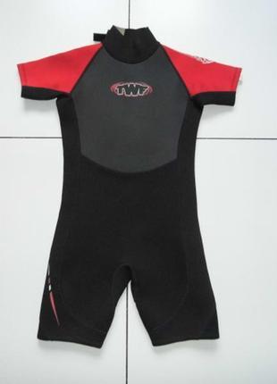 Детский профессиональный гидрокостюм - twf protector  140 - сток