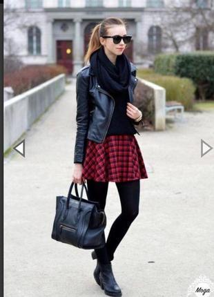 Модная юбка в клеточку))при покупке вещи от 200гр,вещь за 50гр будет бесплатно