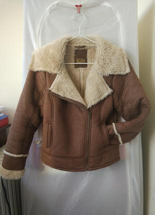 Дубленка-косуха (куртка авиатор) icon