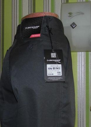 Мужские спортивные штаны - dunlop sport  golf - 30w-r - австрия - этикетка!!!