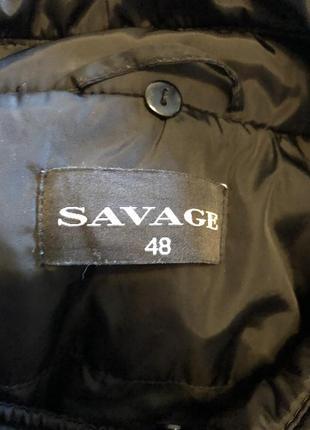 Пальто утепленное демисезонное savage3 фото