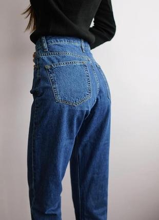 Джинсы мом mom jeans