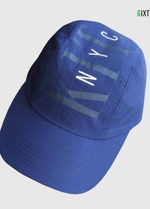 Кепка kith - nyc 3 panel hat - navy