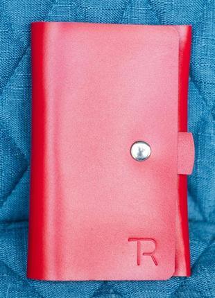 Органайзер для паспорта, натуральна шкіра, hand made, органайзер для паспорта и карточек