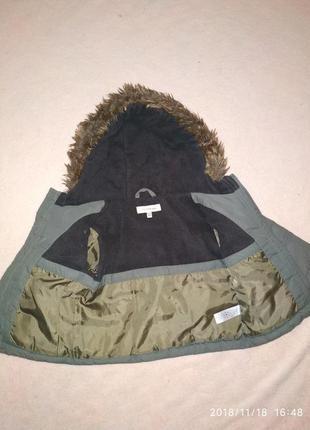 Курточка мальчику, евро зима, rocha little 18-24 мес