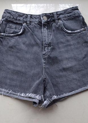 Короткие джинсовые шорты topshop