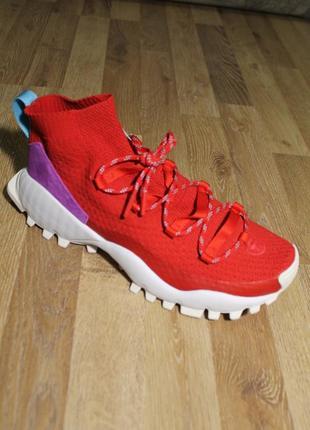 Шикарні кросівки adidas seeulater winter pk (red)
