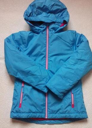 Мембранная лыжная термо-куртка, курточка crane, германия, р.134-140