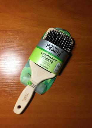 Деревянная расческа для волос щетка щітка для волосся