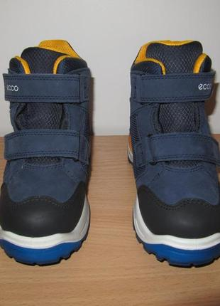 Зимние ботинки ecco 30 размер-19, 8см по стельке5